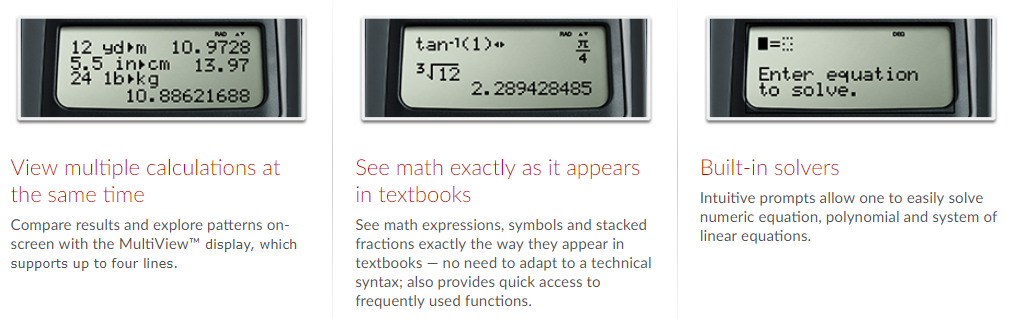 TI-36X Pro Scientific Calculator - Numerical Analytics