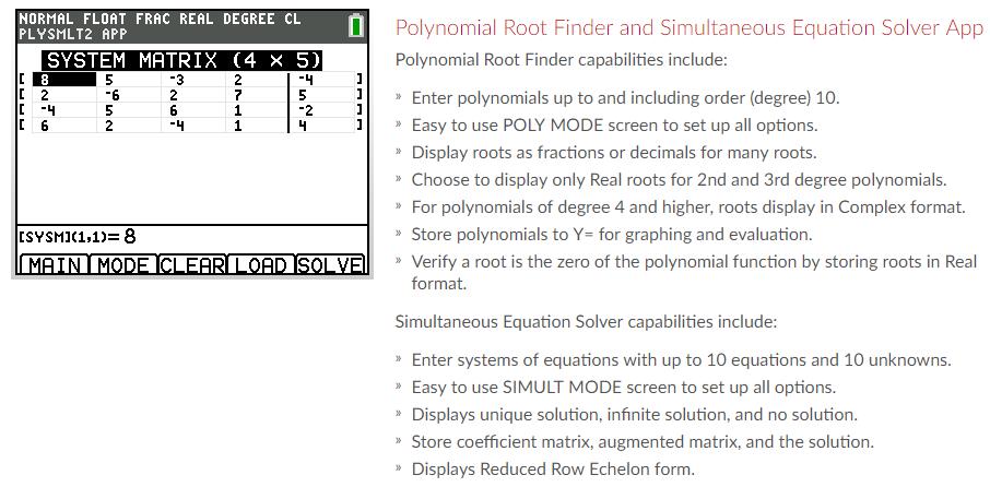 TI-84 Plus CE Graphing Calculator - Numerical Analytics