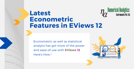 Latest Econometric Features in EViews 12