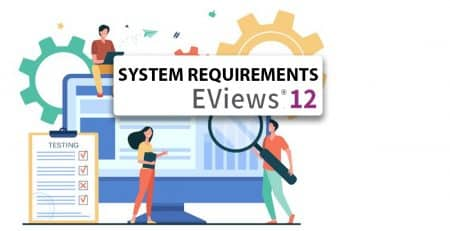 Eviews 12 System requirements Numerical analytics